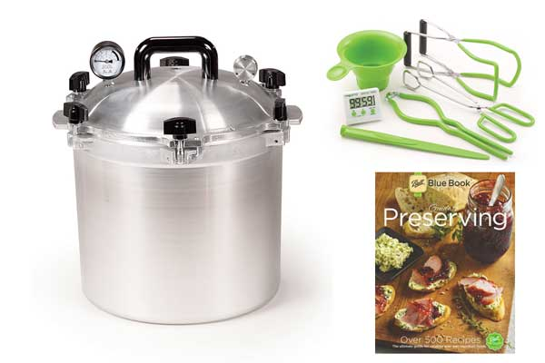 All American 21 Quart Pressure Canning Kit