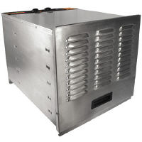 Weston Stainless Steel 10 Tray Food Dehydrator
