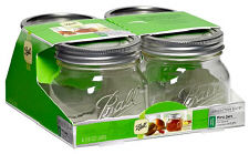Ball Collection Elite Platinum Palleted Canning Jars