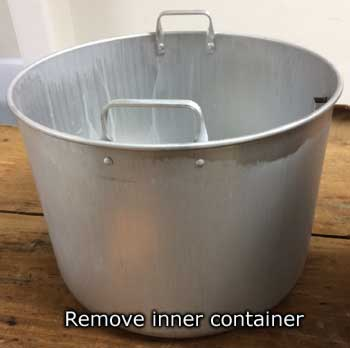 Remove inner container